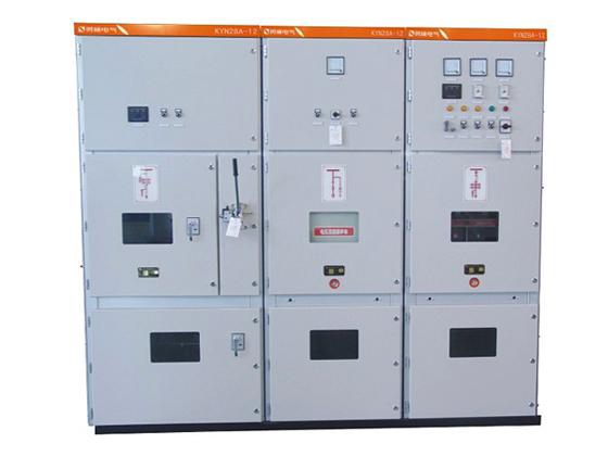 KYN28-12-户内金属铠装抽出式开关设备