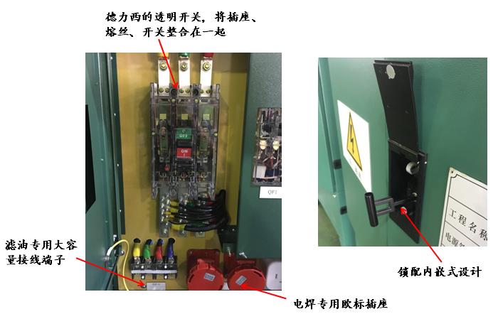 100-400A的临时用电电源箱 勇顺